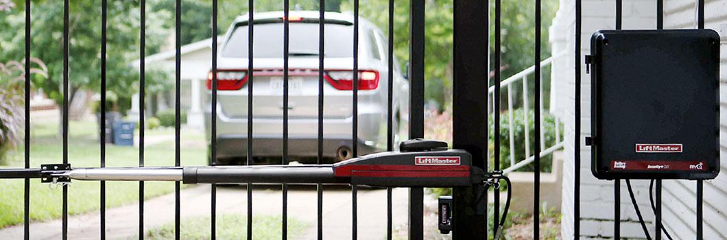Motorisation de clôture résidentielle